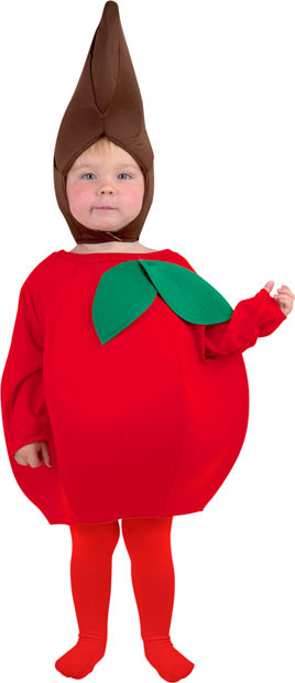 Toddler Apple Costume