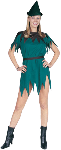 Adult Woman Elf Dress Costume