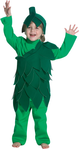 Toddler Bean Sprout Costume