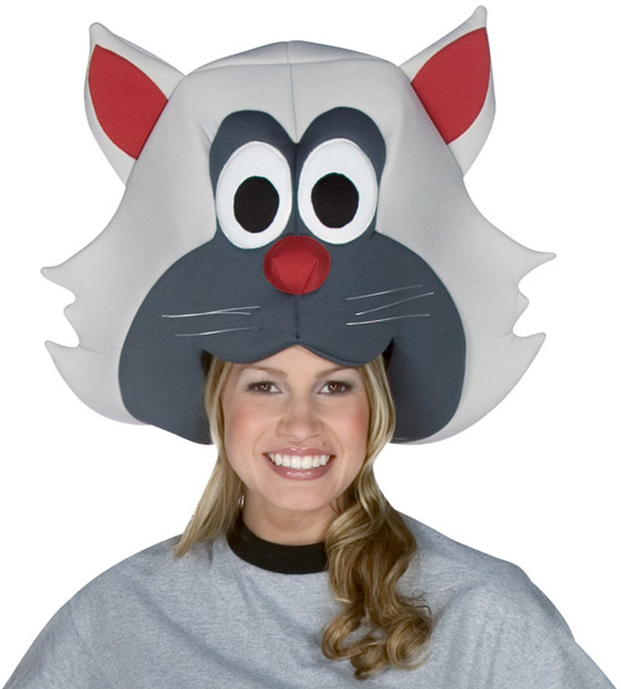 Adult Cat Head Hat