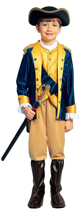 Child's George Washington Patriot Costume