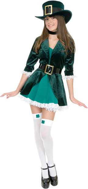 Teen Sexy Leprechaun Costume
