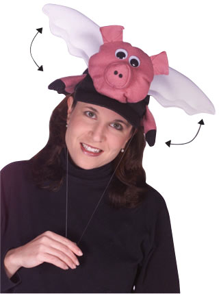 flying pig hat 2