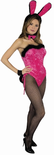 Hot Pink Sexy Bunny Costume