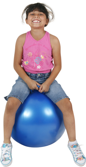 "Hippity Hop 18"" Blue Hop Ball"