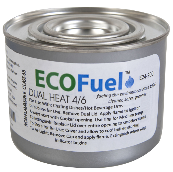 "Chafing Fuel ""Dual Heat"" 4/6 Fuel Single Can"