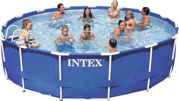 replacement 15 x 42 intex metal frame set pool liner
