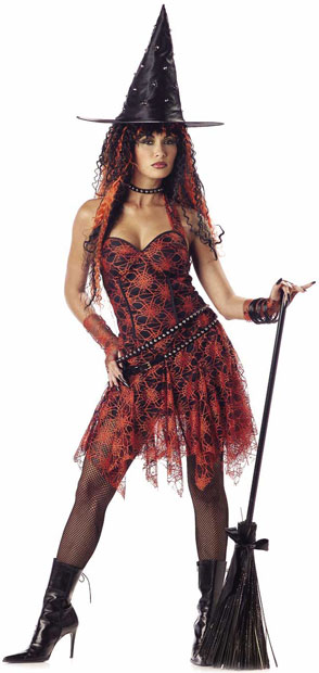Adult Hot Rockin' Witch Costume