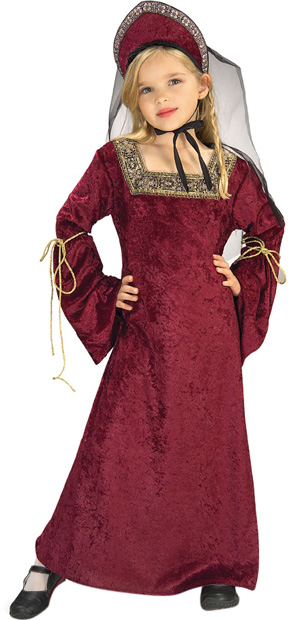 Child's Lady Of The Palace Renaissance Costume