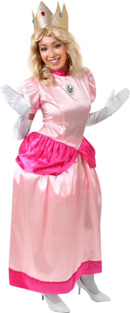 Adult Super Mario Brothers Princess Peach Costume  sc 1 st  Brands On Sale & Princess Peach Costumes | Princess Costumes | brandsonsale.com