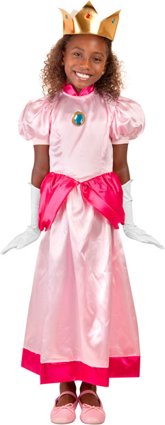 Girls Video Game Princess Costume