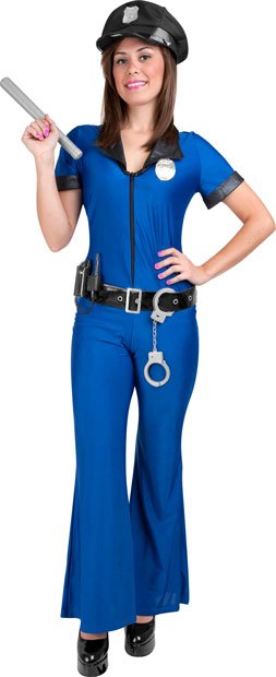 Teen Sexy Police Officer Costume