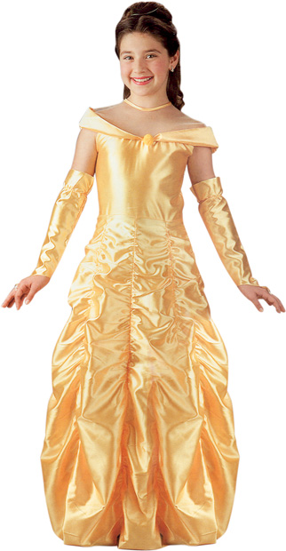 Child's Deluxe Belle Costume