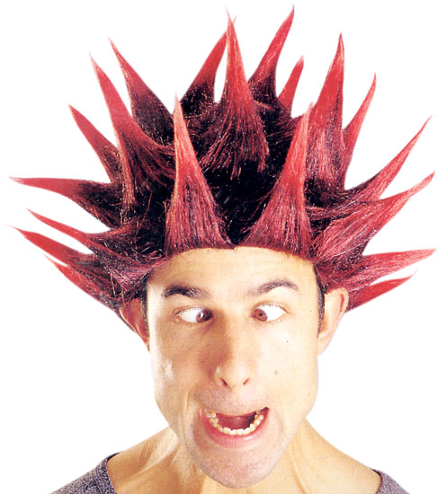 Adult Spiked Wig