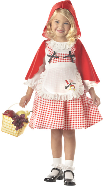 Child's Red Riding Hood Costume