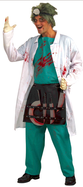 Bloody Horror Surgeon Costume