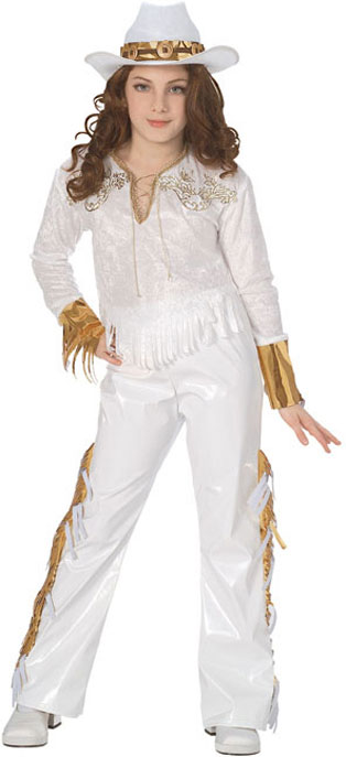 Child's Country Western Diva Costume