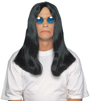 Adult British Heavy Metal Wig