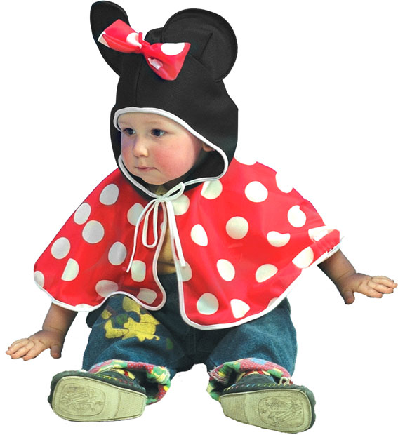 Toddler Mickey Mouse Cape Costume