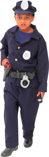 Child's Deluxe Policeman Costume