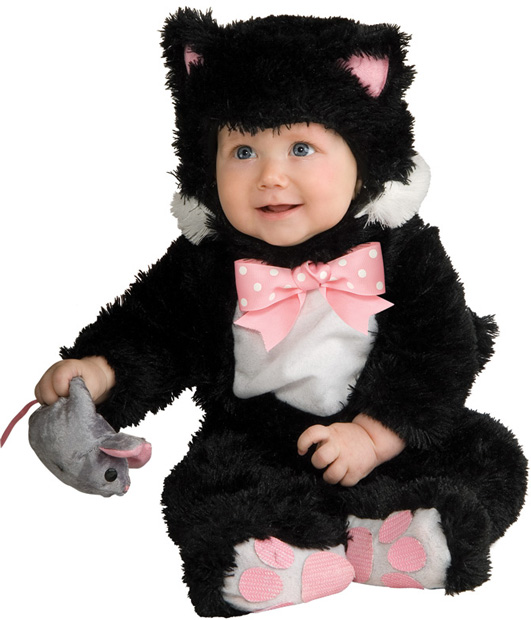 Baby Black Kitty Cat Costume