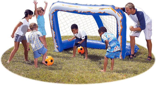 Large Inflatable Soccer Goal