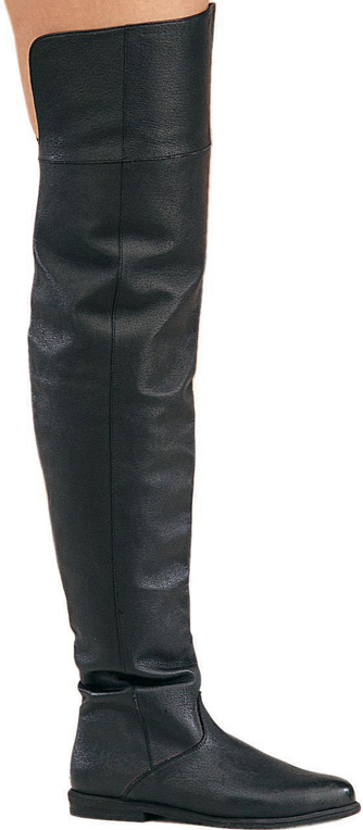 Thigh High Cavalier Costume Boots