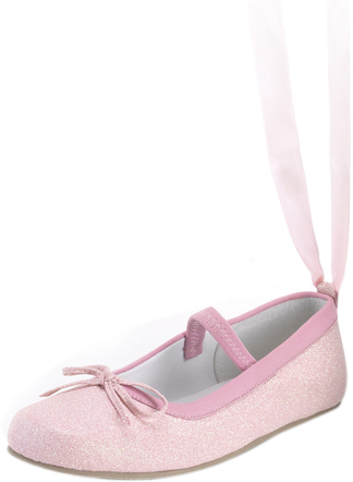 Child's Pink Ballerina Shoes