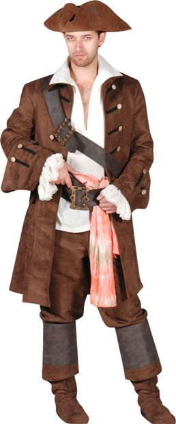 Pirate Buccaneer Theater Plus Size Costume