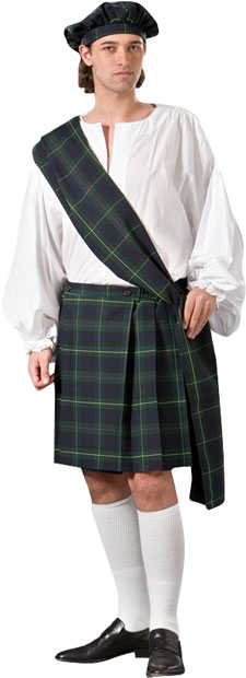 Scottish Kilt Theater Costume