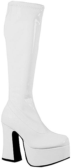 White Cheerleader Boots