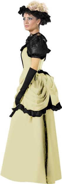 Cream Theater Quality Victorian Dress