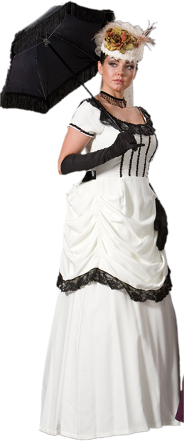 Deluxe Womenu0027s Victorian Dress Costume  sc 1 st  Brands On Sale : victorian ladies costumes  - Germanpascual.Com