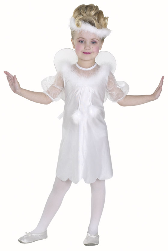 Toddler White Angel Costume