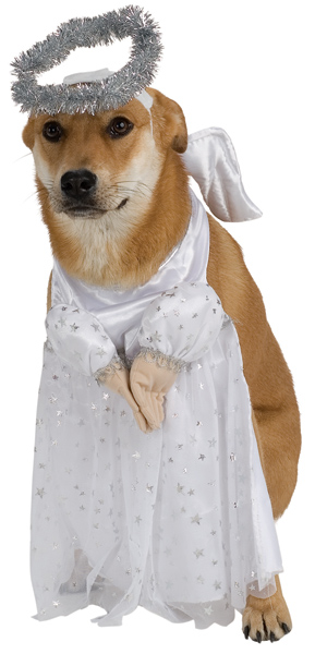 Doggie Heavenly Angel Pet Costume