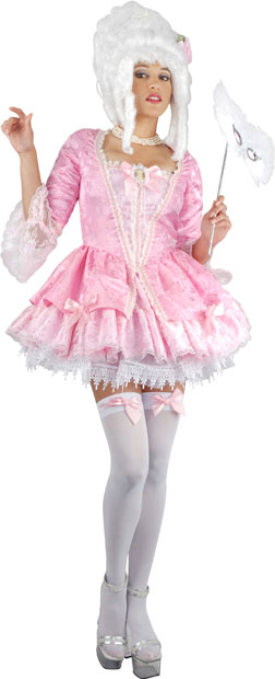 Pink Sexy Marie Antoinette Costume