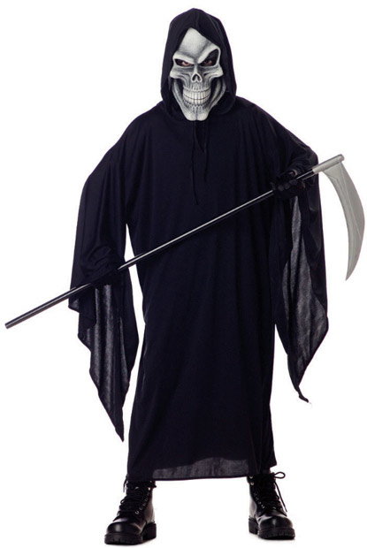 Child's Grim Reaper Costume Robe