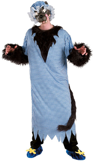 Adult The Big Bad Wolf Costume