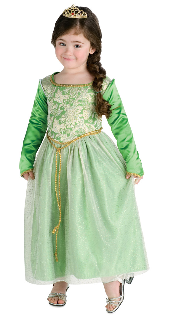 Child's Princess Fiona Costume Dress