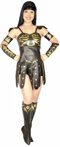 Adult Warring Princess Costume