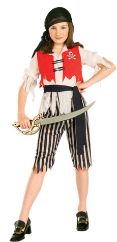 Child's Pirate Wench Costume