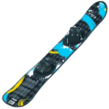 Storm 115cm Snowboard with Toe Bindings