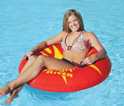 Rollin River Inflatable River Tube 42""