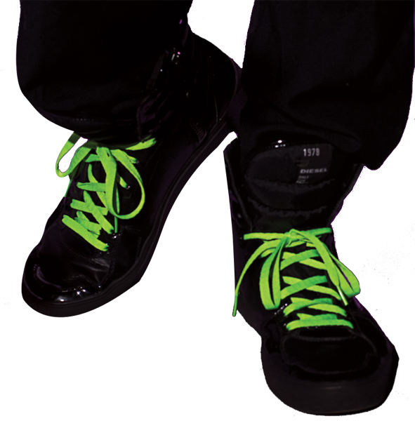 Neon Green Shoelaces