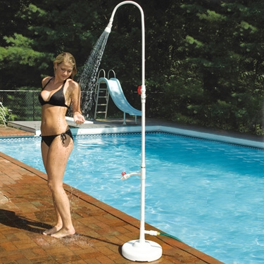 PVC Poolside Shower