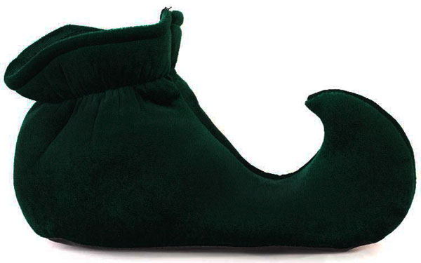 Toddler Green Elf Shoes