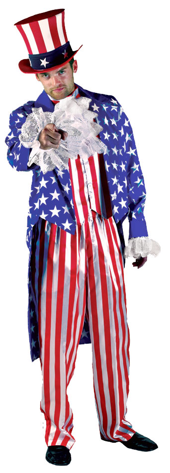 Ultra Deluxe Uncle Sam Costume