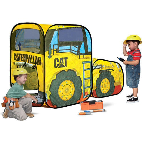Playhut Caterpillar Front Loader Vehicle Tent