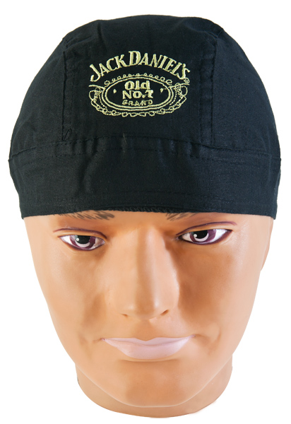 Jack Daniel's Embroidered Skull Cap