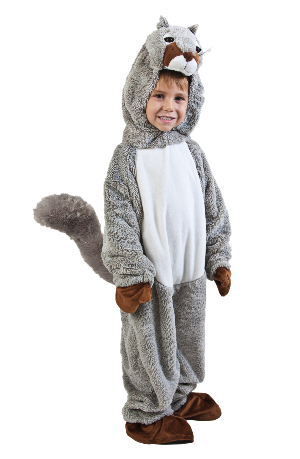 childs squirrel costume